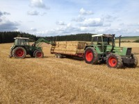 FENDT FAVORIT 614 LS Baujahr 1982 u. Farmer 308 LS / Quelle: Jacques PETIT