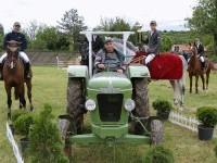 FENDT Farmer 2D mit dem größten FENDTfan in Bulgarien / Quelle: Paulina Georgieva, Riben / Bulgarien