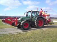 FENDT FARMER 410 Vario, Baujahr 1999, 8145 Betr.-Std. ( mit neuen Aufklebern )